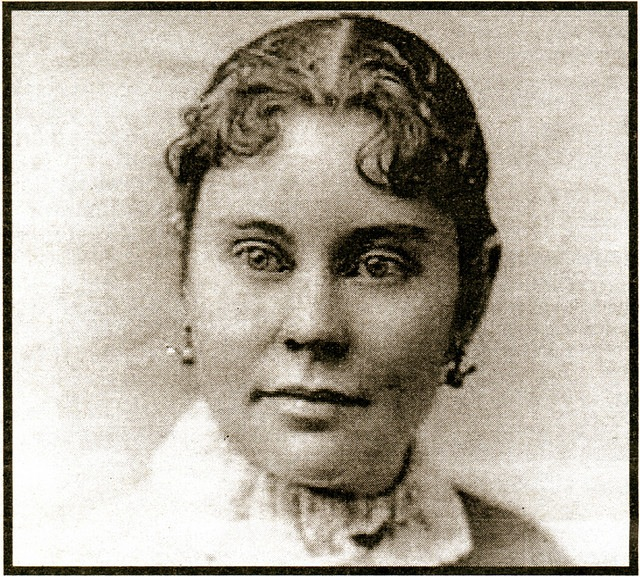 Photo of young Lizzie Borden Fall River MA
