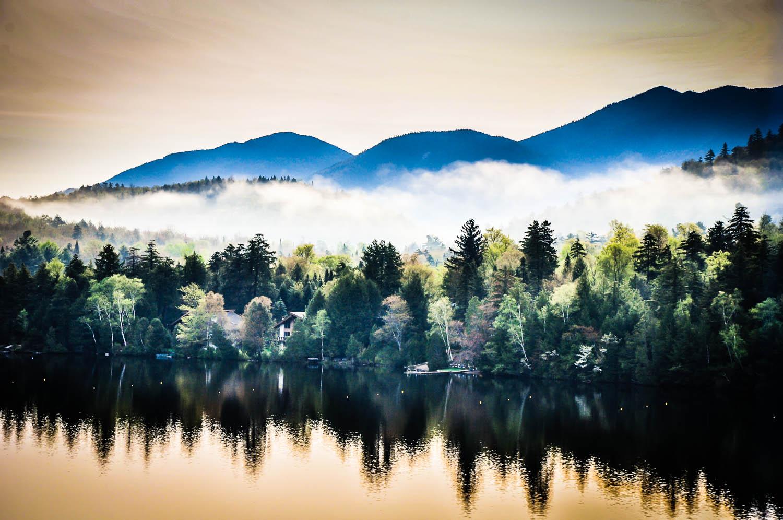 Mirror Lake Reflections | Lake Placid, NY