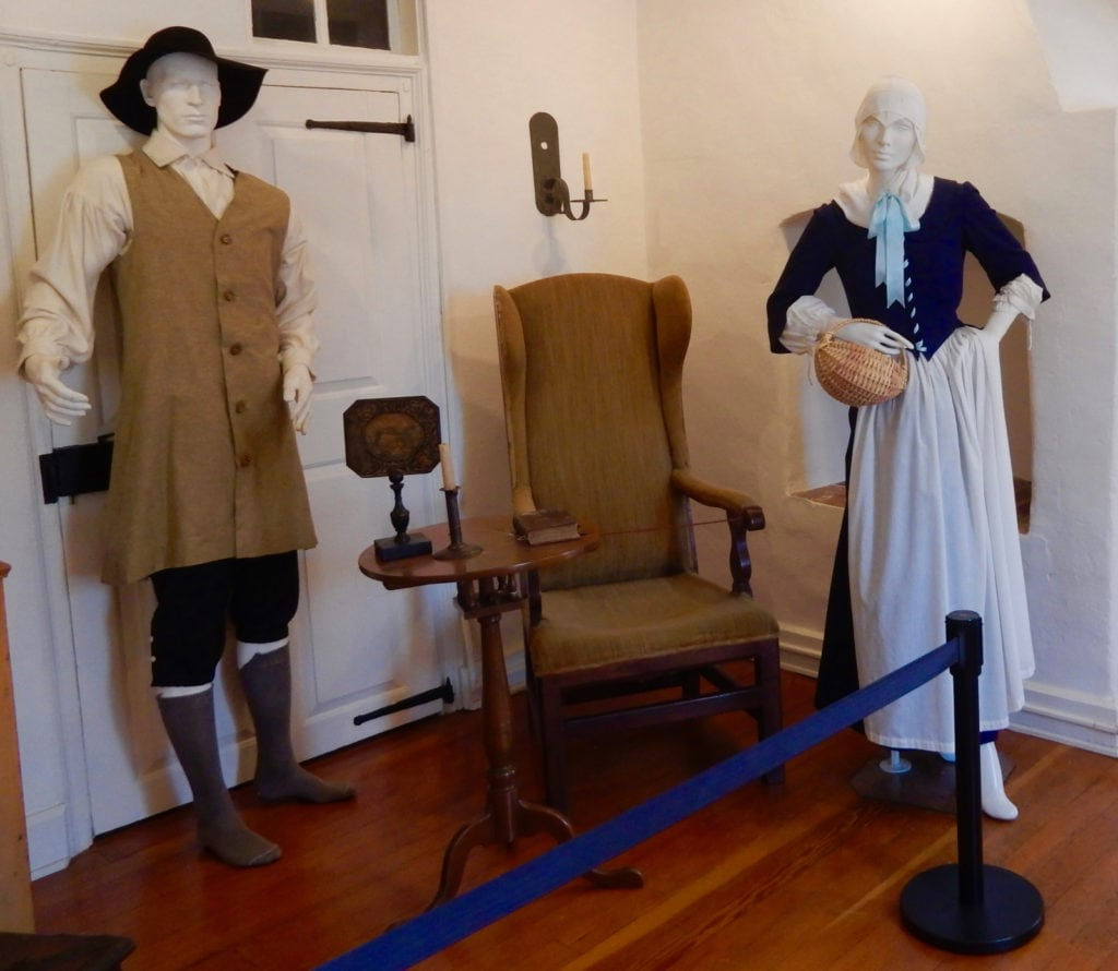 Moravian Dress Historic Bethlehem PA