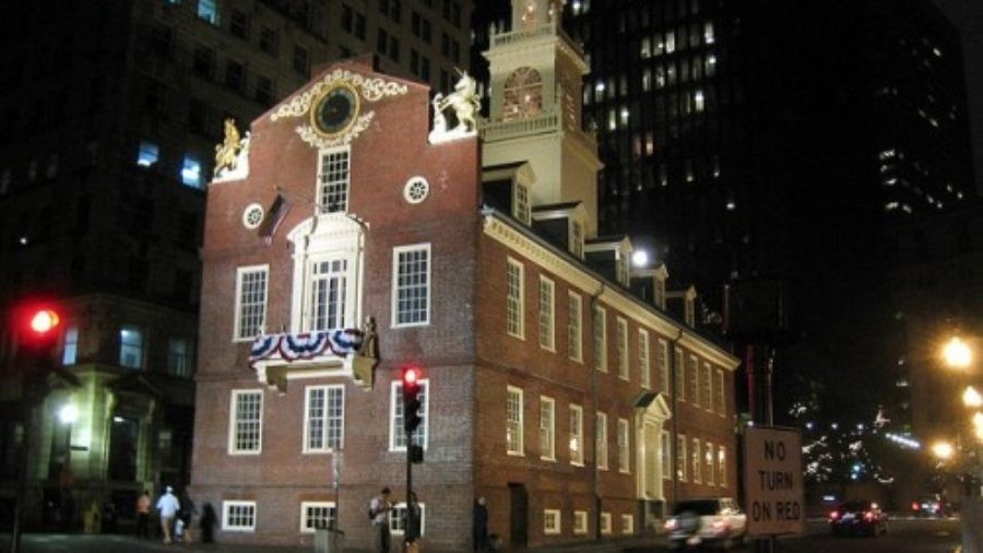 American History; Boston Style (With Martinis)