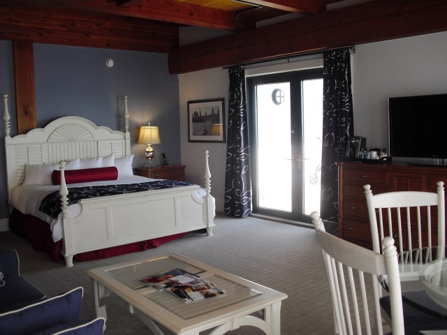 Hotel room at Boston Yacht Haven Inn and Marina, Boston MA