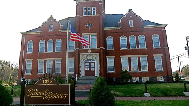 Once the Gettysburg, PA High School is now a boutique hotel