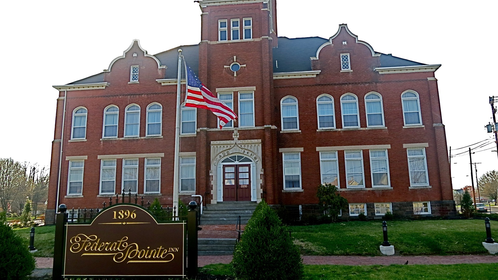 Once The Gettysburg Pa High School Is Now A Boutique Hotel