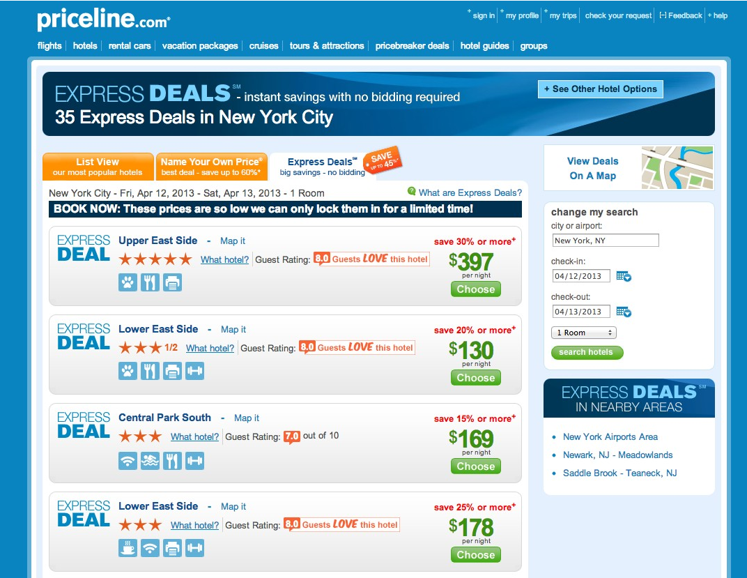 Rent A Car On Priceline