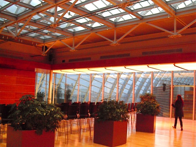 Event space in soaring, glass-topped performing arts building in downtown Philly PA #visitphilly #PATravelHappy @GetawayMavens