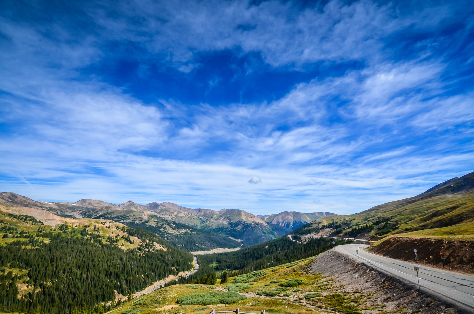 Loveland Pass on Route 6