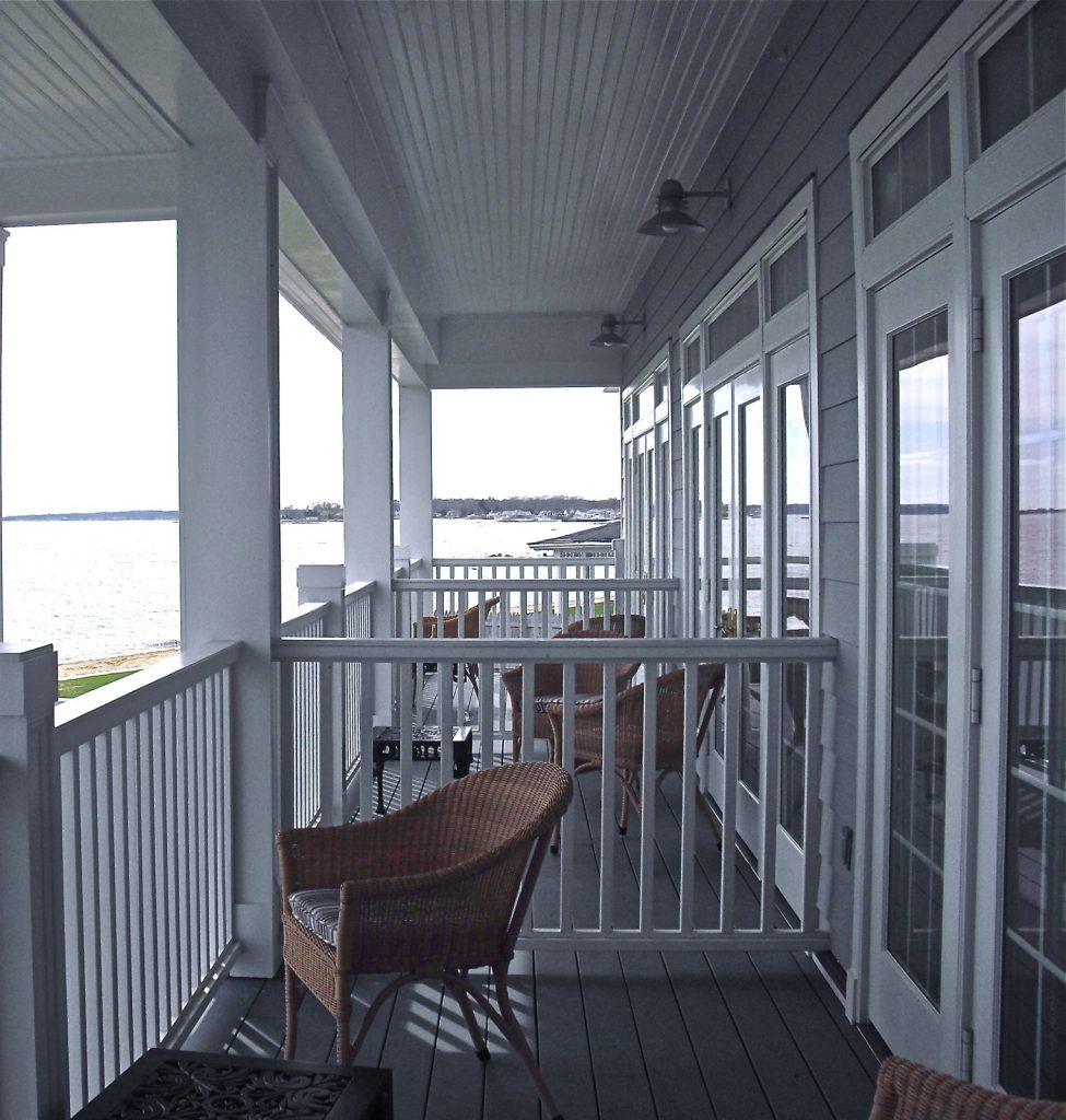 Balcony, Madison Beach Hotel, CT