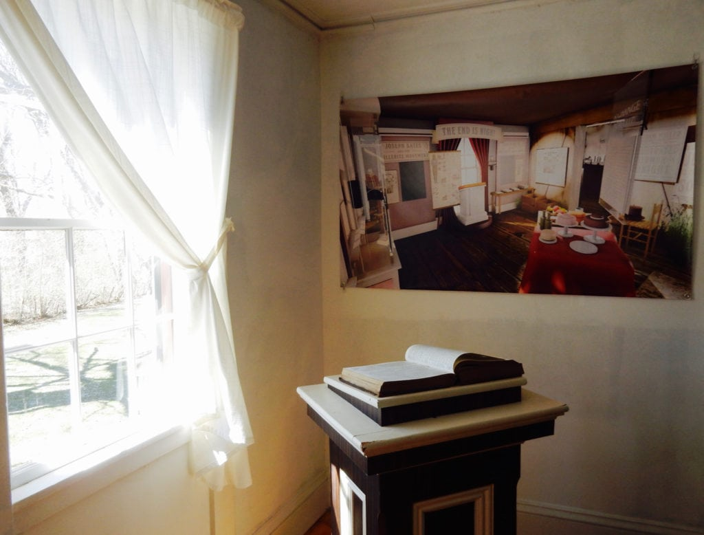 Interior Bates Home Founder of 7th Day Adventists Fairhaven MA