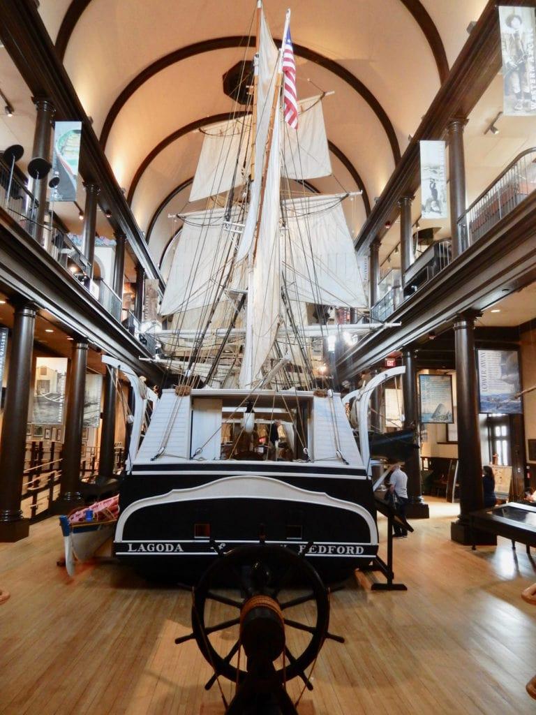 Lagoda Ship Model New Bedford Whaling Museum MA