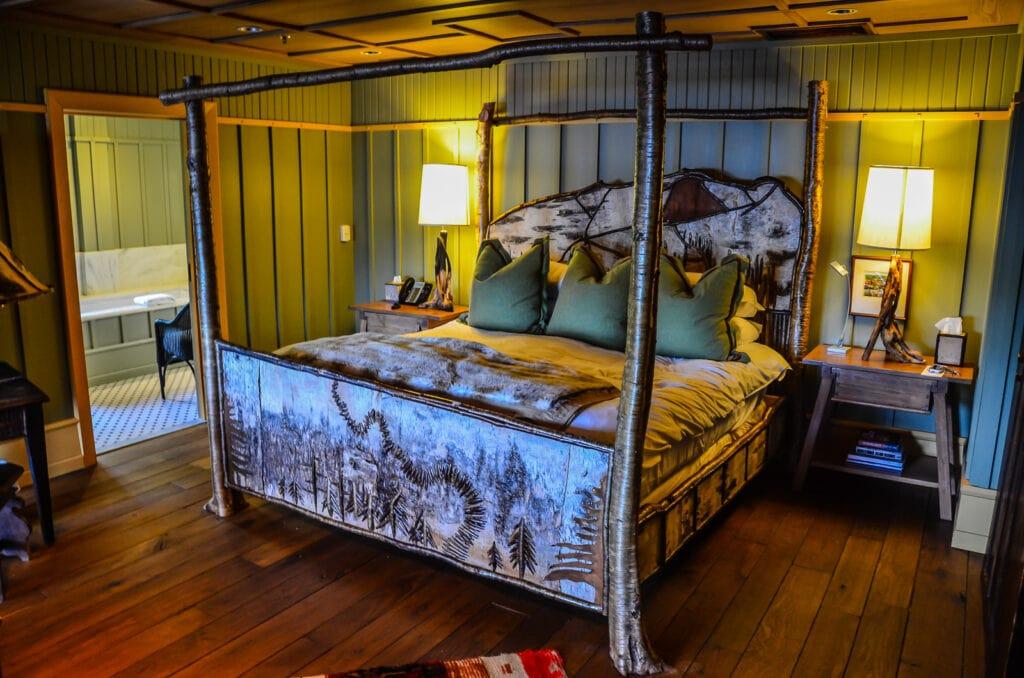 Lake Placid Lodge Guest room