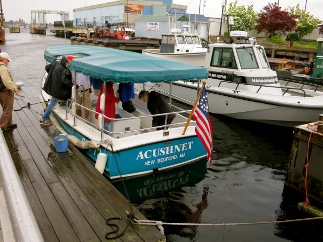 Acushnet - Harbor Tourboat for New Bedford Harbor Tours #VisitMA @GetawayMavens