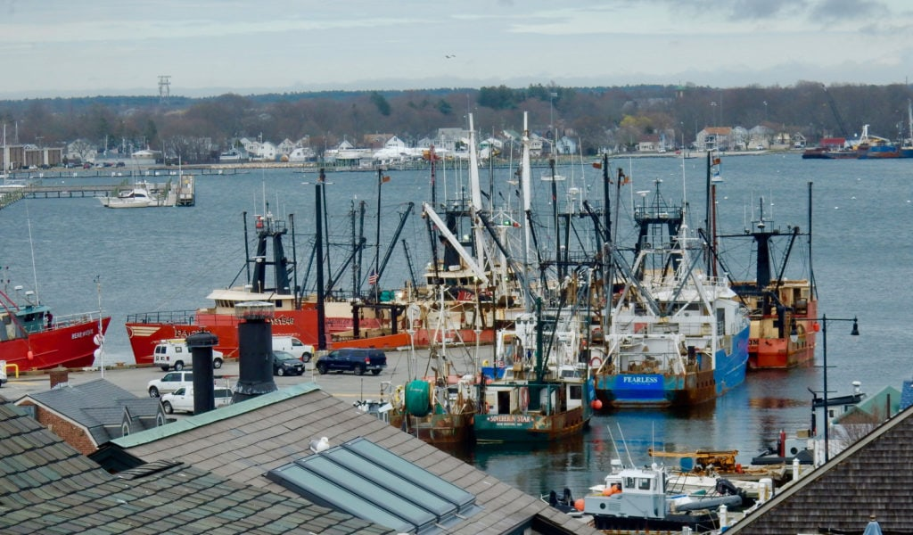 New Bedford MA Fishing Fleet