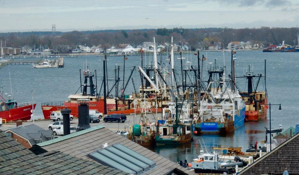 New Bedford MA Fishing Fleet