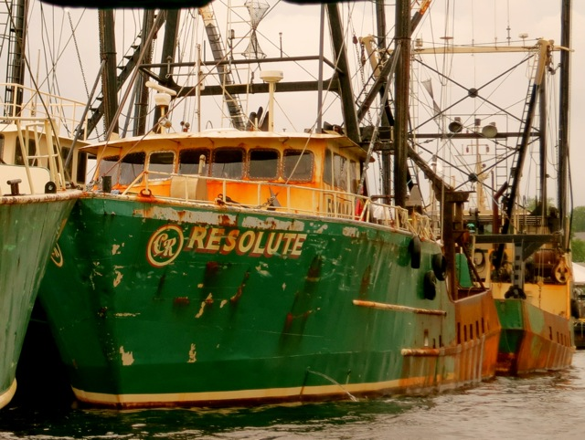 New Bedford MA Scallop Boats