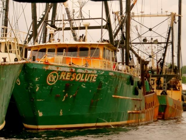 New Bedford MA Scallop Boats