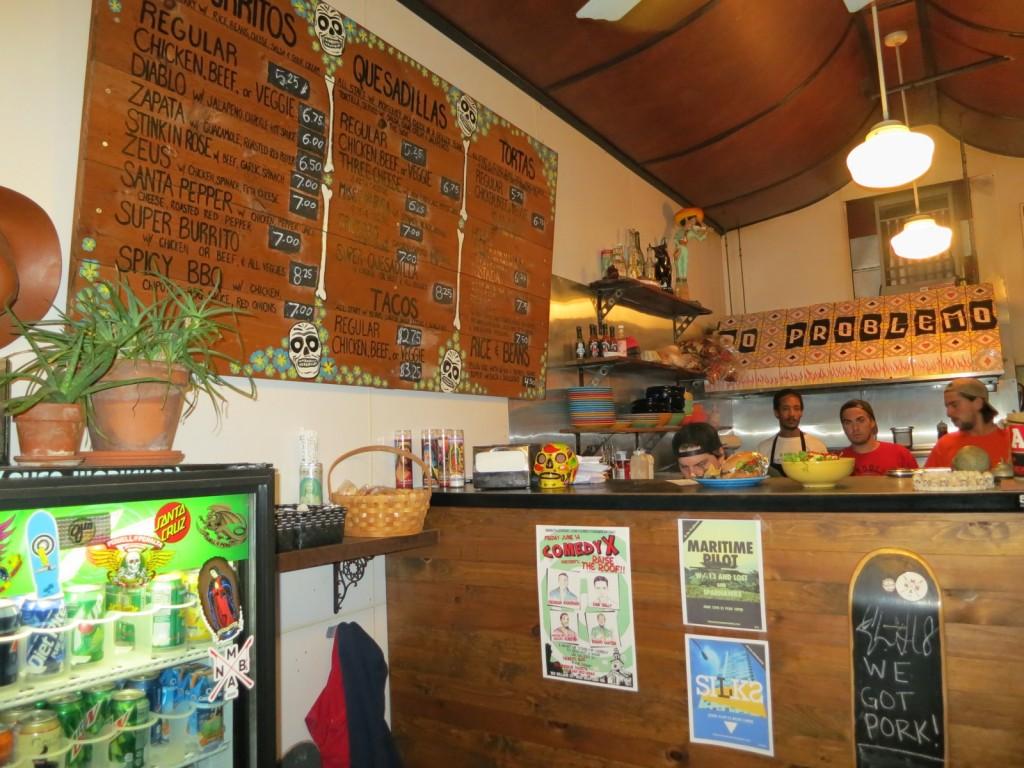 No Problemo cafe New Bedford MA