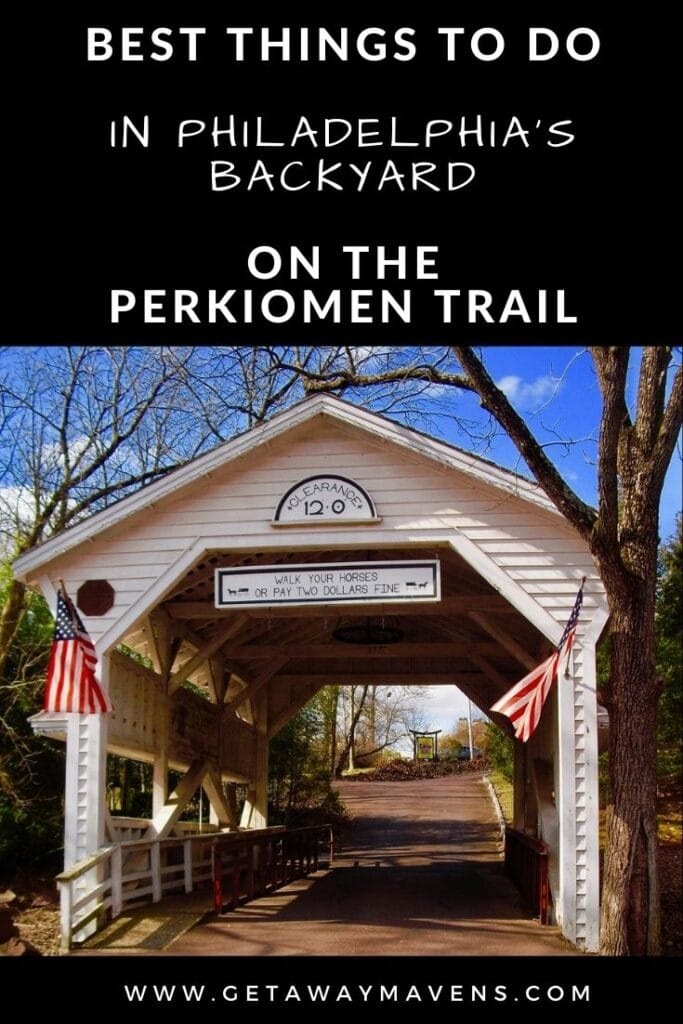 Perkiomen-Trail-Skippack-Village-PA-Pin