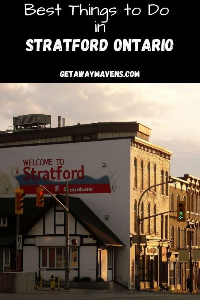 Stratford-Ontario-Pin