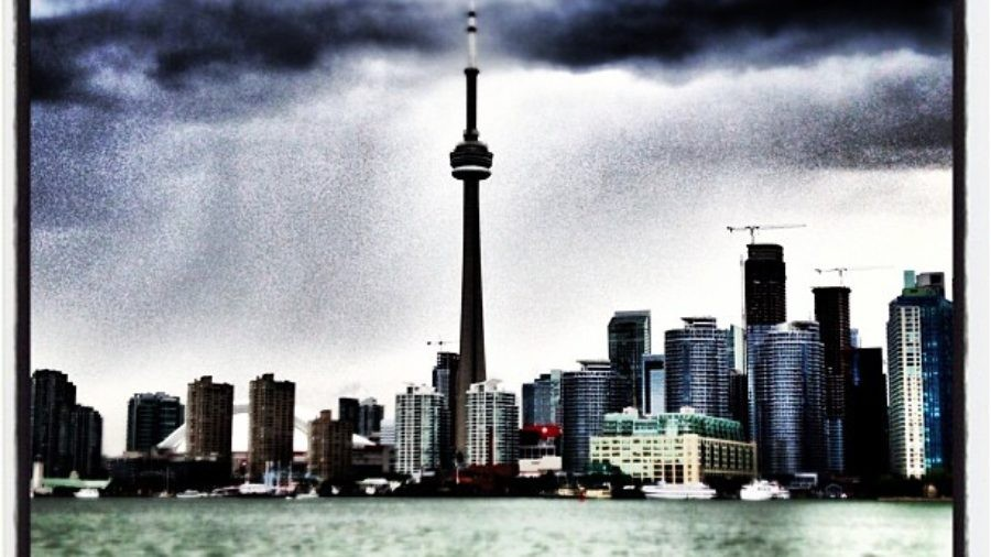 Toronto skyline CN tower