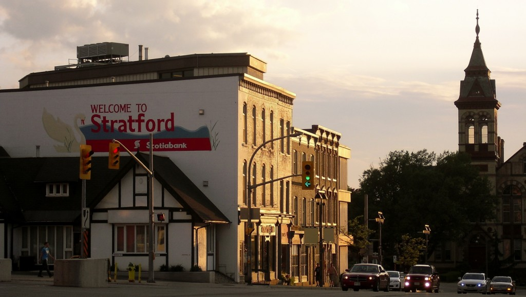 Welcome to Stratford, Ontario in Canada.