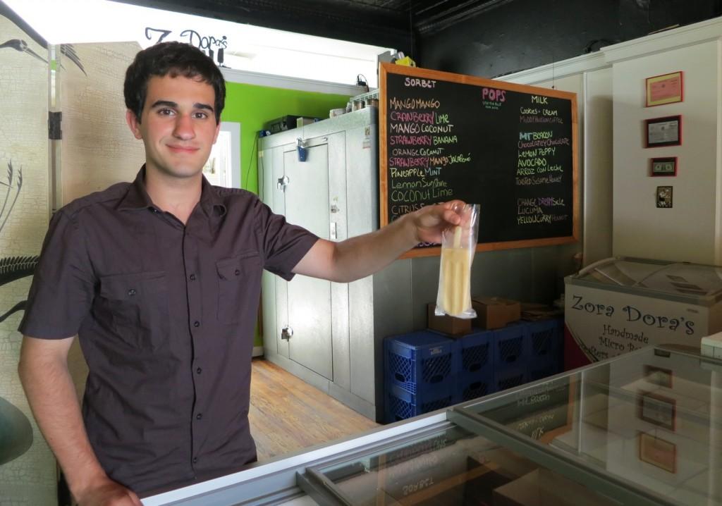 Zora Dora's Natural Popsicles, Beacon NY