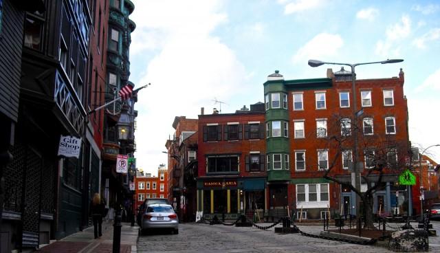 Boston Alleyway