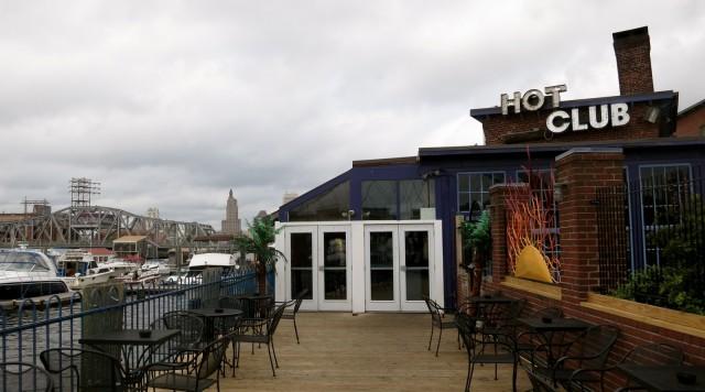 Neighborhood riverside club, Hot Club, Providence, RI