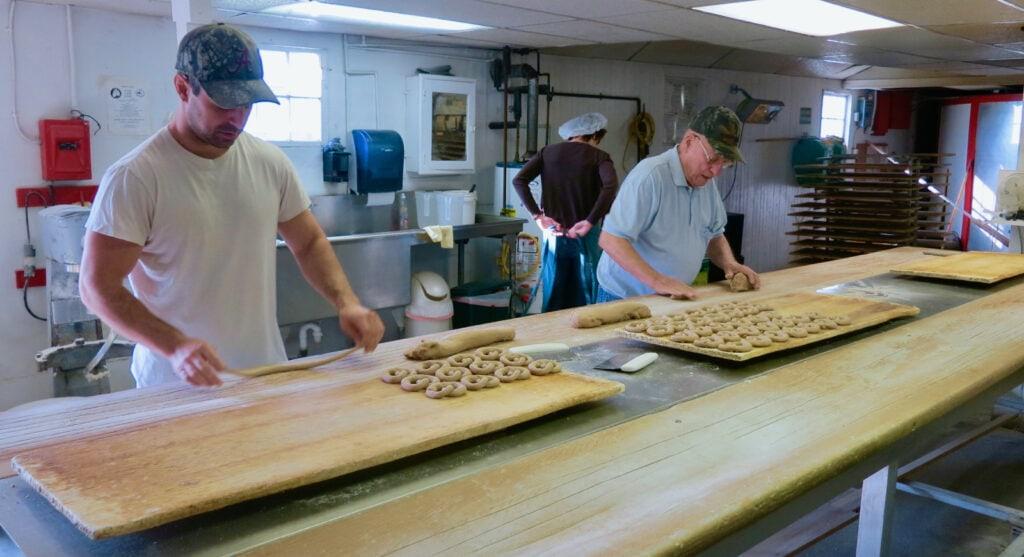 Handmade Revonah Pretzels Factory Tour PA