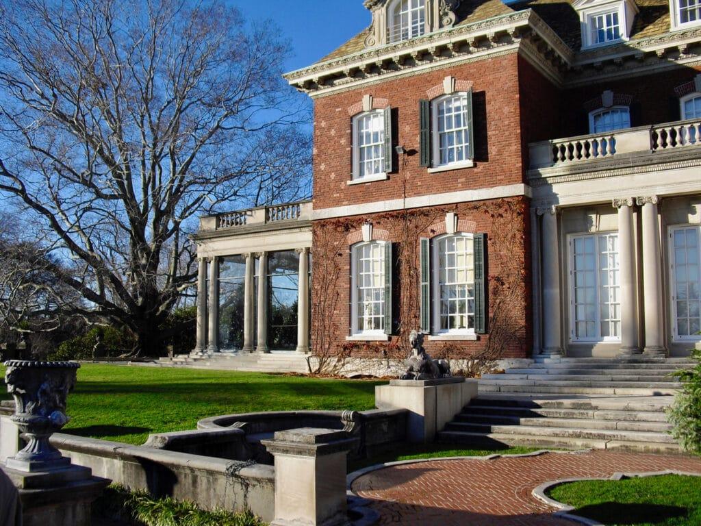 Old Westbury Gardens Mansion NY