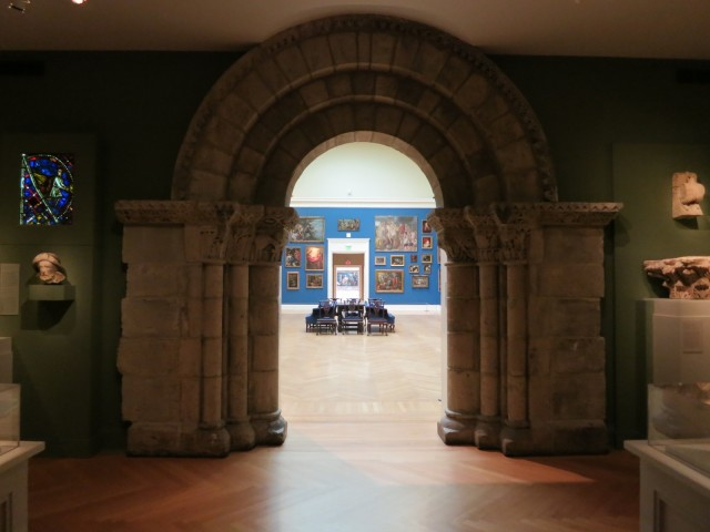 Antiquities and classic art at RISD Art Museum, Providence, RI