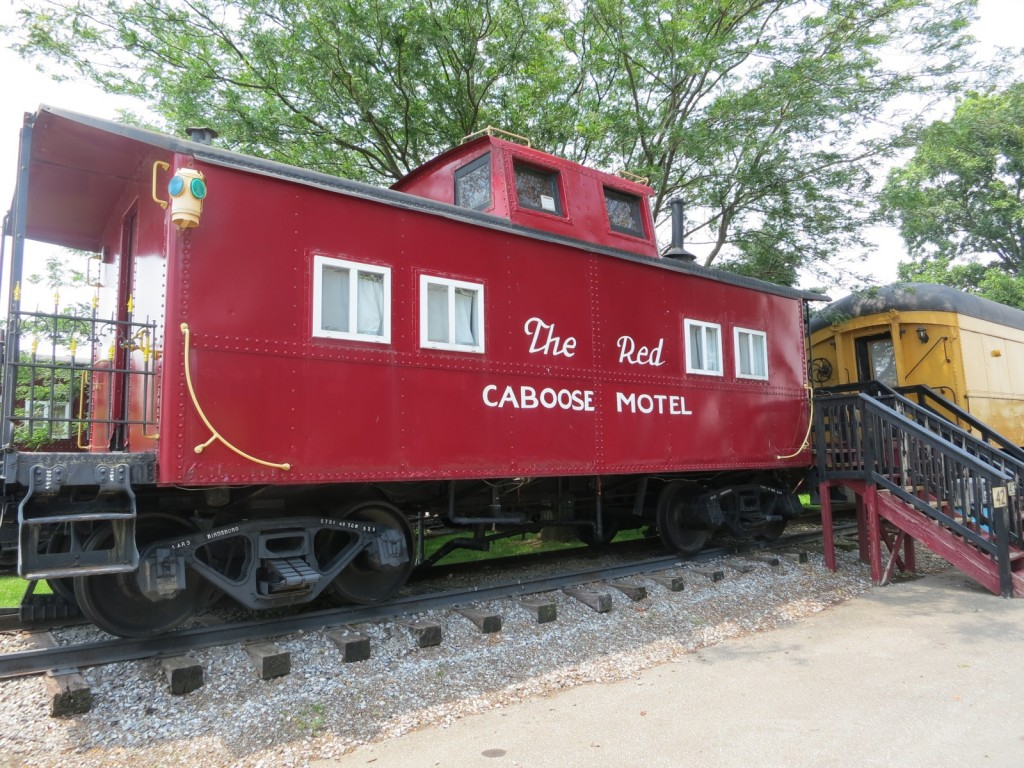 The Red Caboose Motel Lancaster County PA