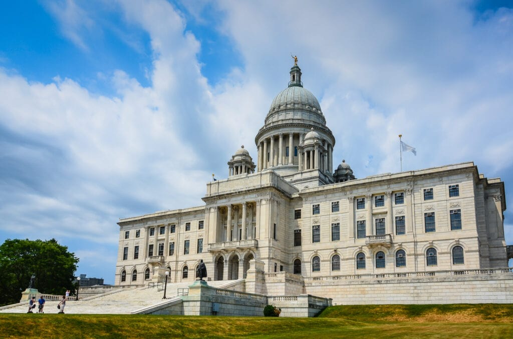 Rhode Island State House Exterior