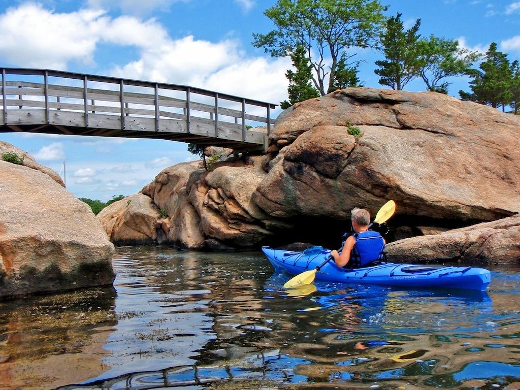 Jerry Wylie - Thimble Island kayak