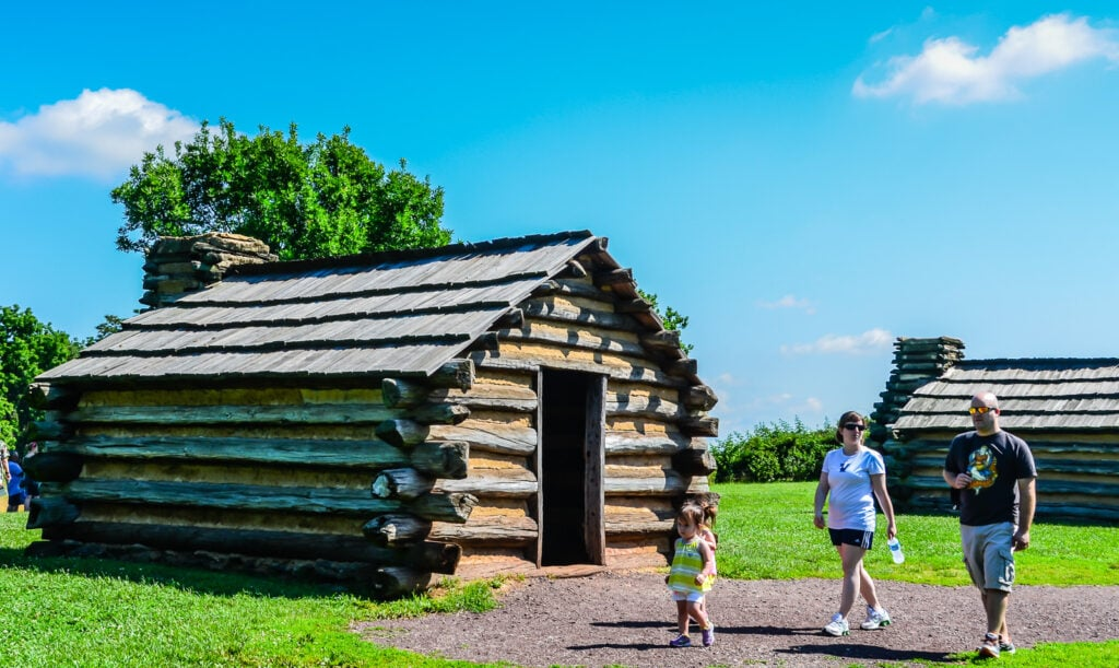 Log City - Cabins at Valley Forge National Historical Park