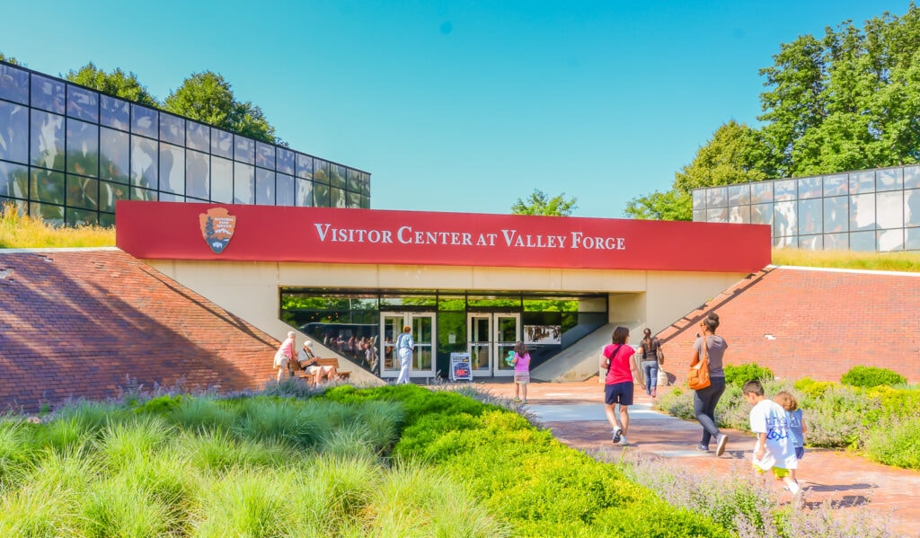 Visitors Center at Valley Forge National Historical Park