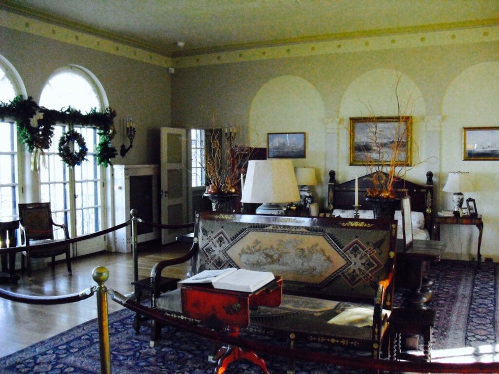 Vanderbilt Mansion Master Bedroom Centerport LI
