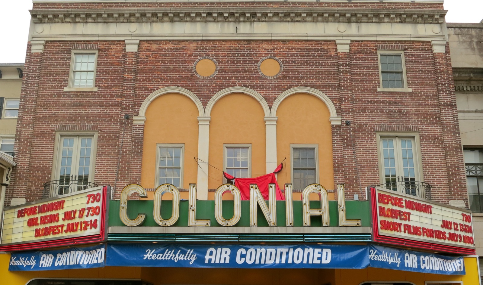 Colonial Theater The Blob Chester County PA