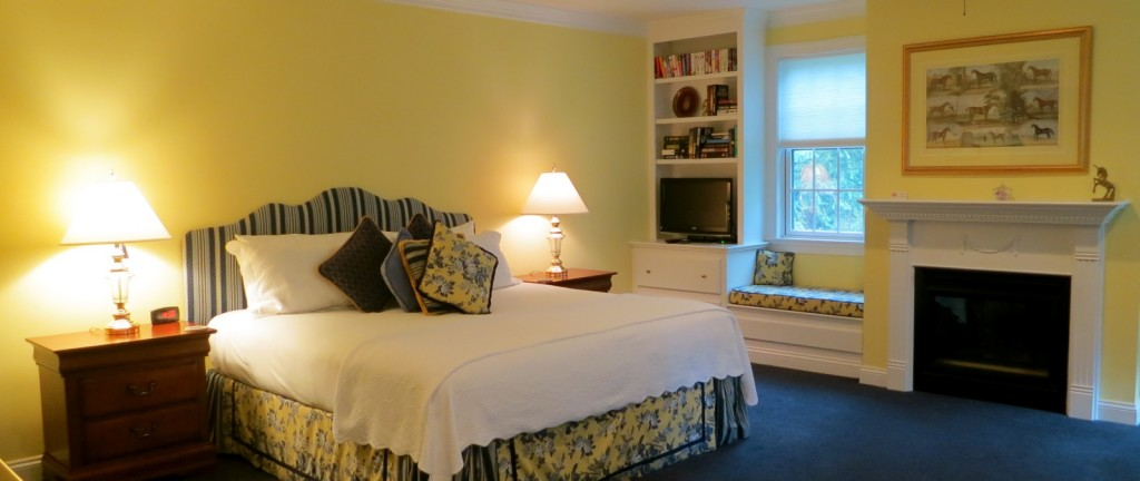 Upscale suite at country Inn, Inn at Whitewing Farm, West Chester, PA