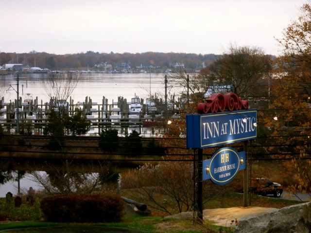 Inn at Mystic sign, Mystic CT