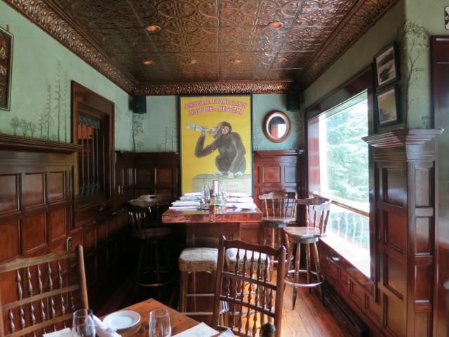 The fun pub at Interlaken Inn, Lake Placid, NY