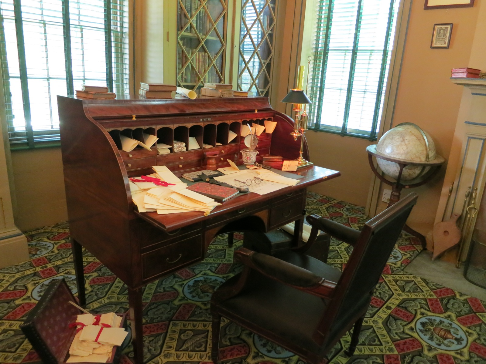 Bedford Katonah Ny Home To Music Art And Celebrities Since 1795 Adams Working At His Desk