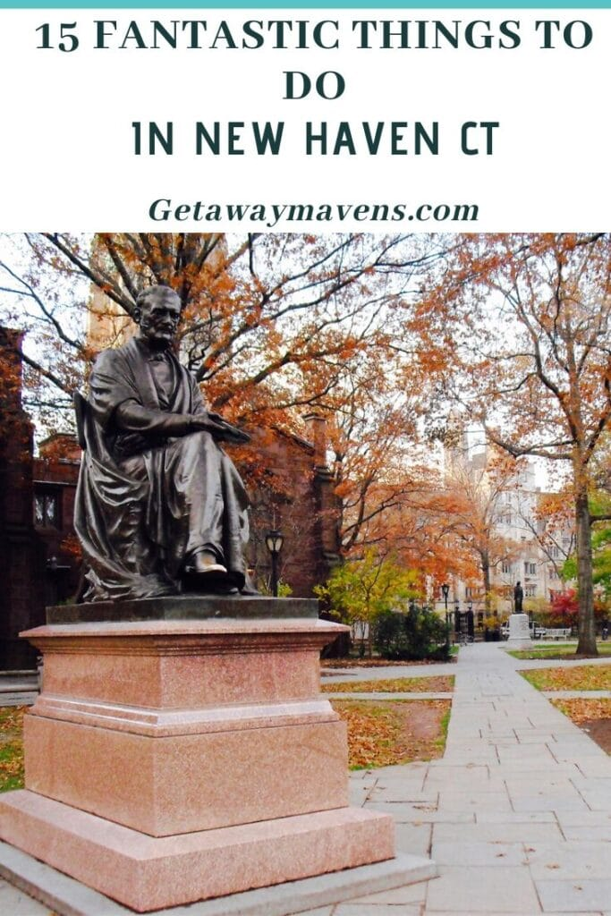 Visit New Haven CT Pin
