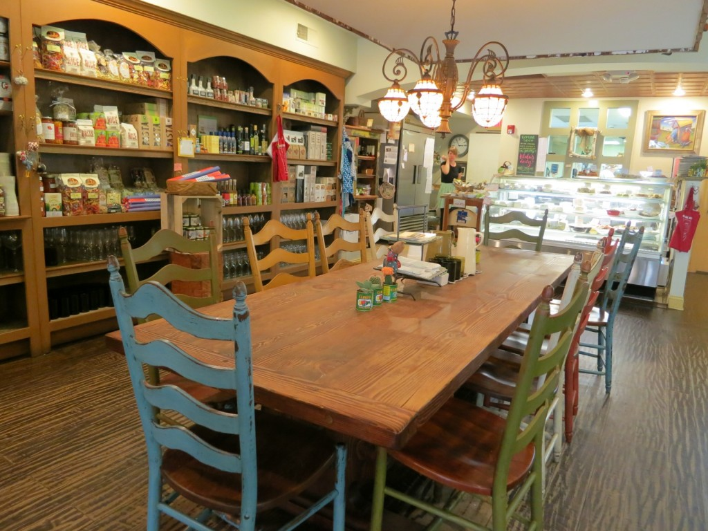 Famous communal Talula's Table, Kennett Square, PA