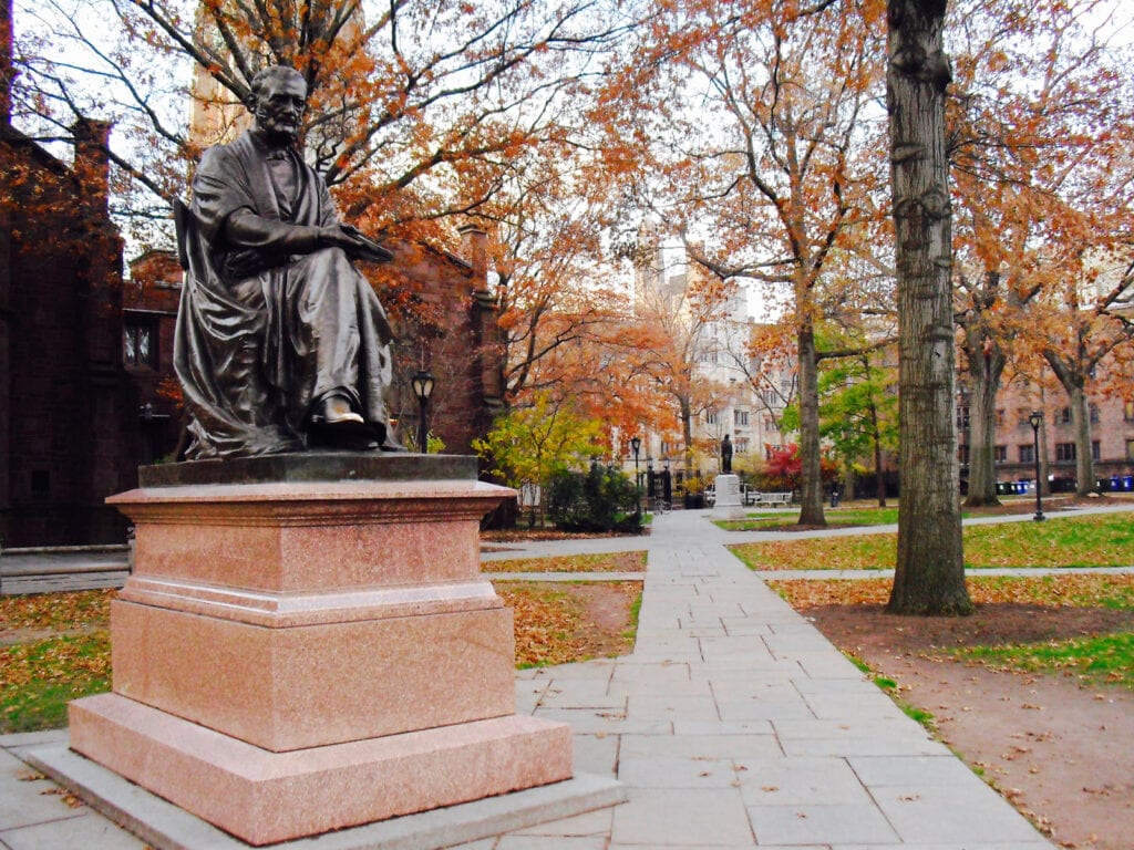 Yale University Campus New Haven CT