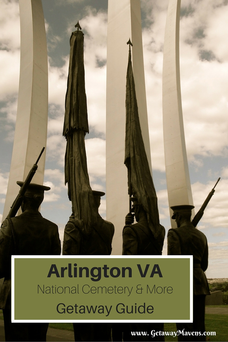The Pentagon, DEA Museum, National Cemetery, Poignant Memorials and Compelling Art tempt visitors to Arlington VA. #Virginia #VisitVA @GetawayMavens