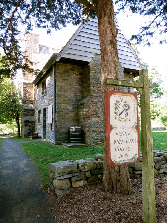 Oldest house in CT - oldest stone house in New England - Henry Whitfield House