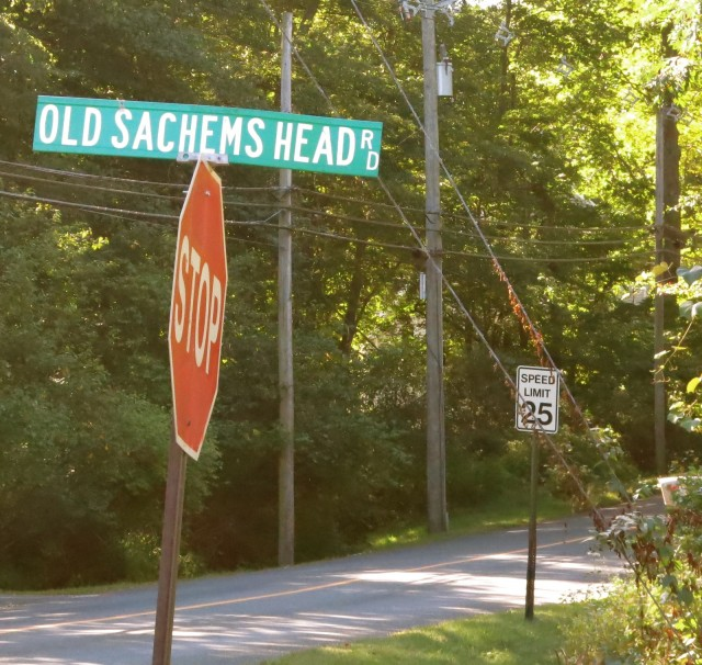 Neighborhood in Guilford CT named after the severed head of a Tribal Leader