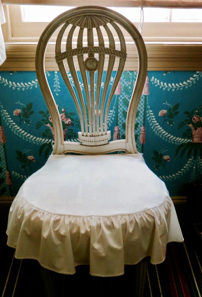 Commemorative Hot Air Balloon Chair John Jay Historic Site