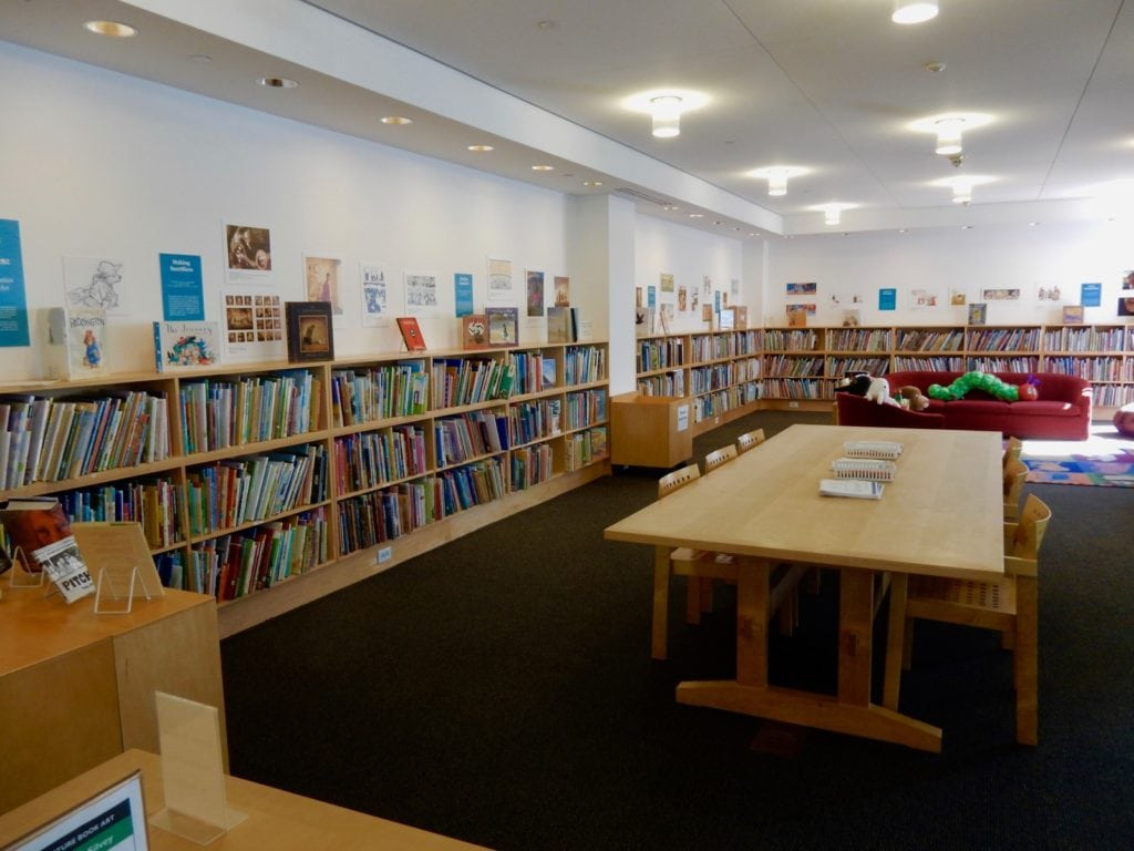 Picture Book Library at Eric Carle Museum Amherst MA