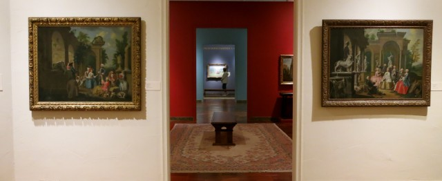 A selection of American and European Art throughout the centuries at the Fine Art Museum, Springfield MA